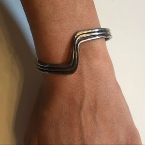 Mexican sterling silver bracelet cuff